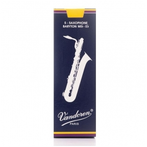 Vandoren VDB-30 Traditional Baryton Saxophone Reed 3.0 (1 Pc)
