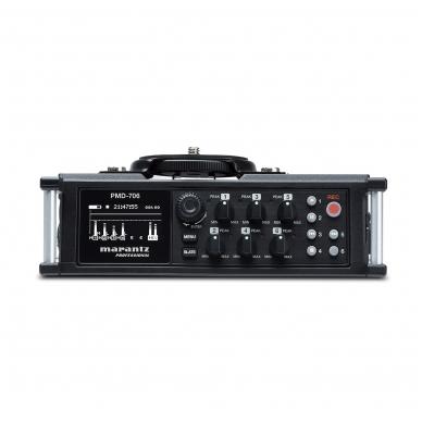 6 kanalų įrašymo įrenginys - Marantz PMD-706 7