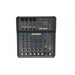 8 kanalų Analoginis mikšerinis pultas su efektais ir USB - ALESIS MULTIMIX 8 USB FX