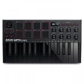 AKAI MPK MINI MK3 BLACK EDITION COMPACT KEYBOARD AND PAD CONTROLLER
