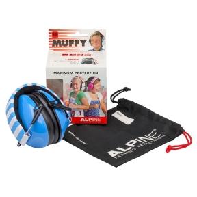 apsauginės ausinės vaikams - Alpine ALP-MUF/BU - Muffy earmuff blue