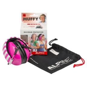 apsauginės ausinės vaikams - Alpine ALP-MUF/PK - Muffy earmuff pink