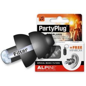 Alpine ALP-PP/BK - PartyPlug earplugs