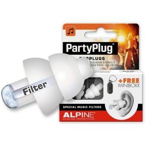 Alpine ALP-PP/WH - PartyPlug earplugs