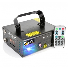 BeamZ Anthe II Double Laser 600mW RGB Gobo DMX IRC 152.633