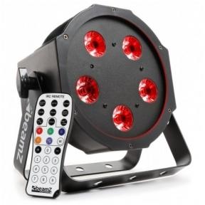 BeamZ BFP120 FlatPAR 5x 8W 4-in-1 LEDs
