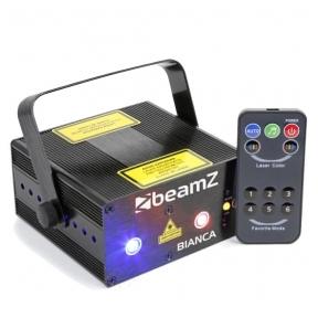 BeamZ Bianca Double Laser 330mW RGB Gobo IRC 152.660