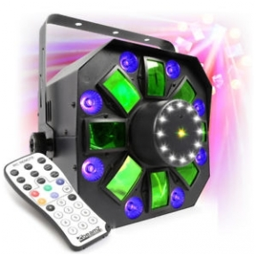 BeamZ MultiAcis IV LED with laser and strobe 153.671