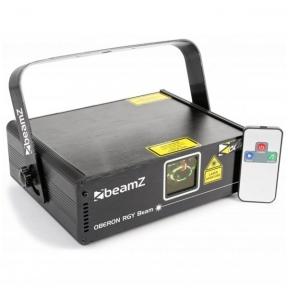 BeamZ Oberon II Laser 230mW RGY Beam DMX IRC 152.803