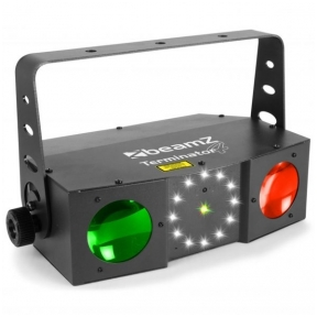 BeamZ Terminator IV LED Double Moon with laser and strobe 153.716