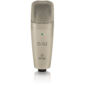 Behringer C-1 U Large-diaphragm Condenser USB Microphone
