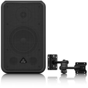 """Behringer CE-500A 80W 5.5"""" Active Commercial Speaker - Black"""