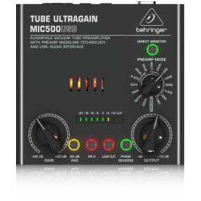 Behringer MIC-500USB Tube Ultragain Preamp