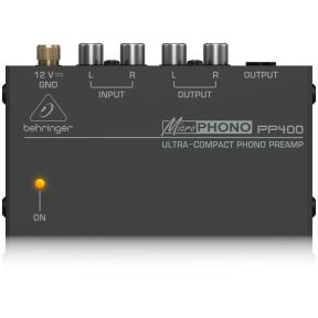 Phono korektorius/stiprintuvas - Behringer PP-400