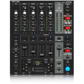 Behringer Pro Mixer DJX-750 4-CH DJ Mixer