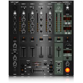 Behringer Pro Mixer DJX-900USB 4-CH DJ Mixer