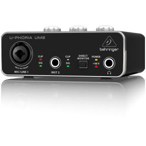 Behringer U-PHORIA UM-2 USB Audio Interface