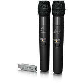 Behringer ULM-202USB 2.4 GHz Digital Wireless Dual Microphone