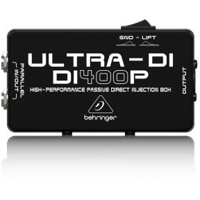 Passive DI-Box - Behringer ULTRA-DI DI400P