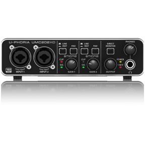 Behringer UMC-202HD U-Phoria USB Audio Interface