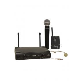 Bespeco GM-905HP Double handheld - headset wireless VHF microphone