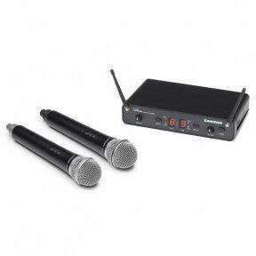 Dvigubas bevielis mikrofonas - Samson - Concert 288 Handheld