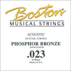 BOSTON BPH-023 .023 PHOSPHOR BRONZE STRING