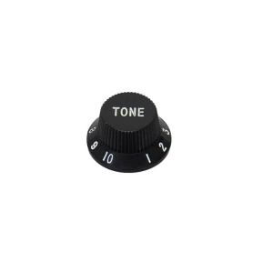 Boston  KB-1726-T Tone Bell Knob - Black
