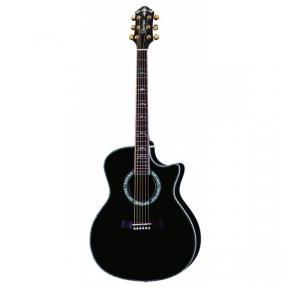 Akustinė Gitara Su Pajungimu Crafter GAE-33/BK Black