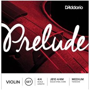 D'Addario J-810-44M Prelude Violin String Set 4/4