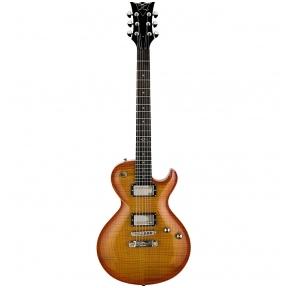 DBZ Guitars Bolero FM Amber Tobacco Burst Electric Guitar
