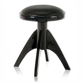 Discacciati 101SM Black Vinyl Piano Stool