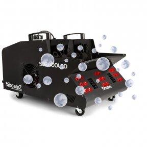 Dūmų ir burbulų mašina su RGB LED - Beamz - SB2000LED 160.527