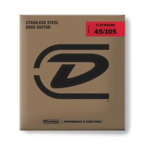 Dunlop DBFS-45105 Flatwound Bass .045 - .105