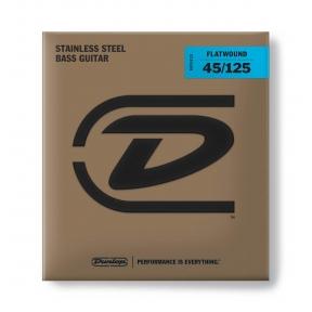 Dunlop DBFS-45125 Flatwound Bass .045 - .125