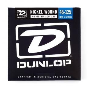 Dunlop DBN-45125 Nickel Wound 5-String Bass Strings .045 - .125 - Medium