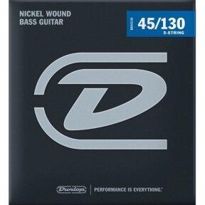 Dunlop DBN-45130 Nickel Wound Bass .045 - .130