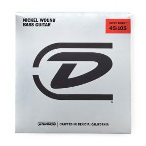Dunlop DBSBN-45105 Super Bright Nickel Wound .045 - .105 Medium