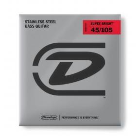 Dunlop DBSBS-45105 Super Bright Bass .045 - .105
