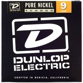 DUNLOP DEK-0942 PURE NICKEL ELECTRIC STRINGS
