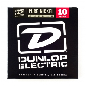 Dunlop DEK-1046 Pure Nickel Electric Strings .010 - .046 - Medium
