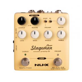 Efektų Pedalas NUX NAP-5 Verdugo Series Acoustic Preamp And DI