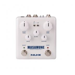 Efektų pedalas NUX NBK-5 Verdugo Series analog compressor and boost MASAMUNE