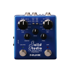 Efektų pedalas NUX NSS-5 Verdugo Series amp+cabinet+mic simulator SOLID STUDIO