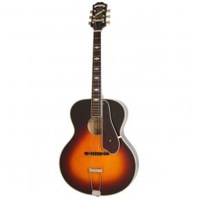 Akustinė Gitara Su Pajungimu Epiphone Masterbilt De Luxe Round Hole Vintage Sunburst