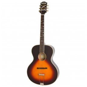 Akustinė Gitara Su Pajungimu Epiphone Masterbilt Zenith Round Hole Vintage Sunburst