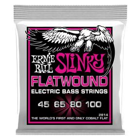 Ernie Ball 2814 Super Slinky Flatwound Bass .045 - .100