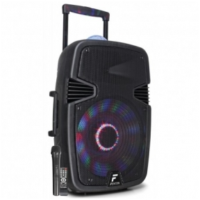 "Fenton FT15JB Active Speaker 15"" 800W with light show"