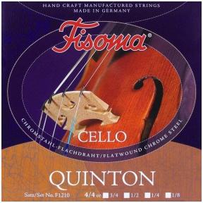 Fisoma F-1210 Quinton Cello String Set 4/4