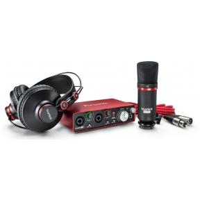 Focusrite Scarlett 2i2 (2nd Gen) Studio Recording Pack